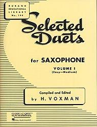 Preisvergleich Produktbild Selected Duets - Saxophone (Volume 1)