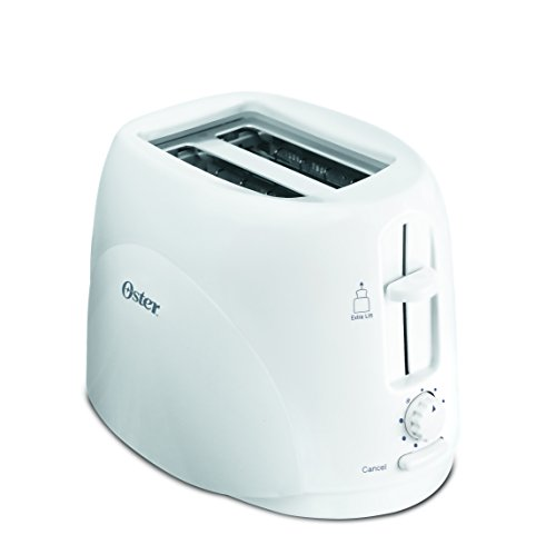 Oster TSSTTR9260 650-Watt 2-Slice Pop-up Toaster (White)
