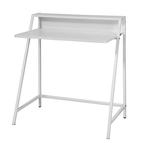 SoBuy-Bureau-informatique-Secrtaire-Table-conception-simple-cadre-mtal-FWT28-W