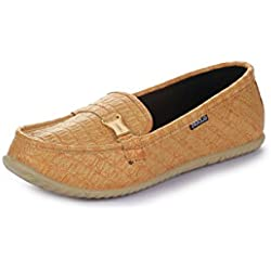 Gliders (from Liberty) Women's 2136-2 Brown Ballet Flats - 6 UK/India (39 EU)