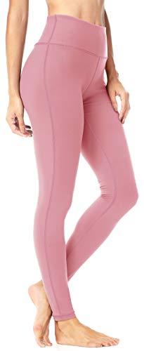 QUEENIEKE Damen Power Flex Yoga Hosen Training Laufende Leggings Farbe Rosa Größe XXL(16) (Xxl-rosa-yoga-hosen Für Frauen)
