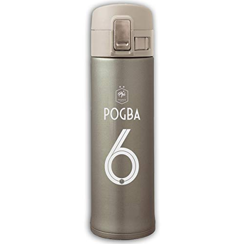 Xu Yishe FFF PAUL POGBA 6 Vacuum Water Bottle Bouncing Cover Insulation Vacuum Cup Stainless Steel Thermos Natural