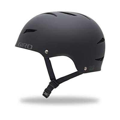 2014 Giro Mens FLAK Helmet Black Medium 55-59cm from Giro