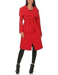 buy online b0aa4 79297 Amazon.it: cappotto rosso donna: Abbigliamento