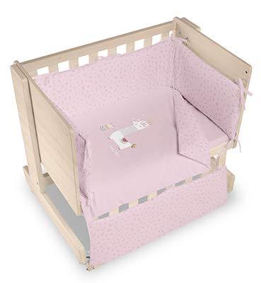 Bimbi Mini Cot Bimbi Casual baby bedroom. Cot bedroom. Natural mini bedspread 18
