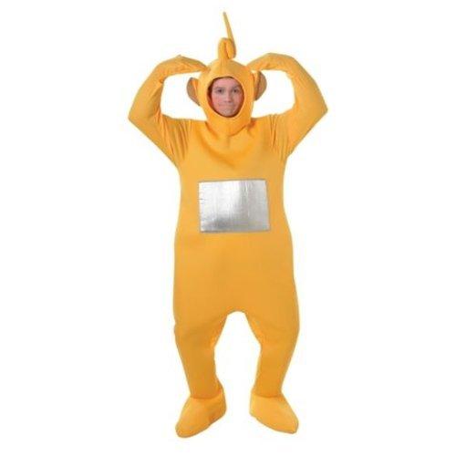 Teletubbies-Kostüm für Erwachsene - Unisex-Einteiler - Rubie's - Eingeitsgröße (Standard), Gelb