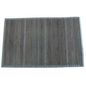 MSV 140498 Tapis Bambou Gris 170 x 120 x 0,1 cm