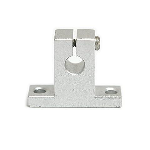 atoplee 2Flansch Halterung Linear Schaft Kugellager Pillow Block [Sk88mm Lager Schaft unterstützt]