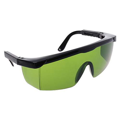 Celan Best Protection Brille, Laser-Schutzbrille, Grün/Blau, Schutzfarbe: Schwarz/Grün