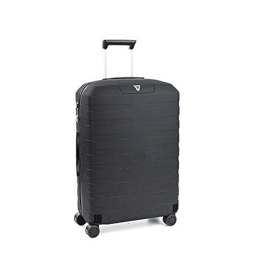 Roncato box 2.0 trolley medio - 4 ruote, 69 cm, 80 litri, antracite
