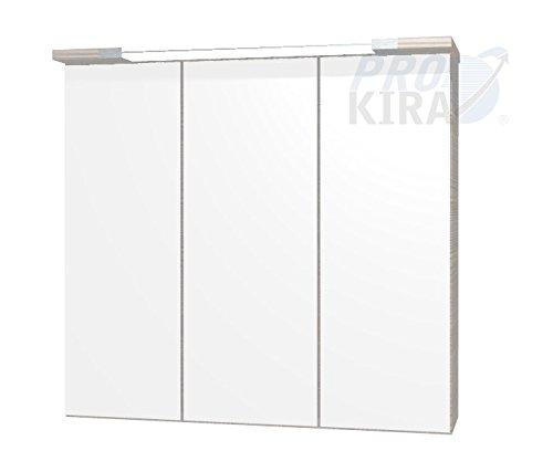 PELIPAL Lunic Spiegelschrank/LU-SPS 16 / Comfort N/B: 80 cm