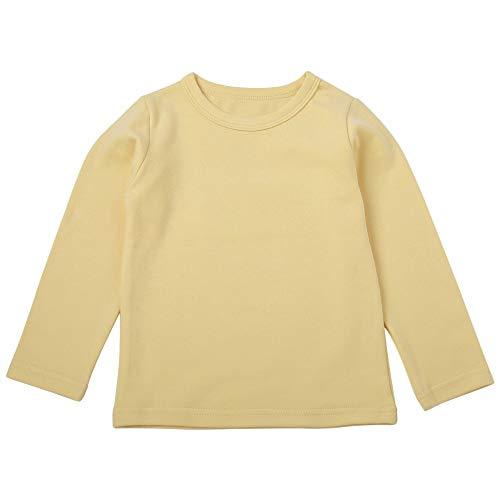 (Hawkimin Kinder Kid Baby Mädchen Jungen Einfarbig Langarm T-Shirt Tops)