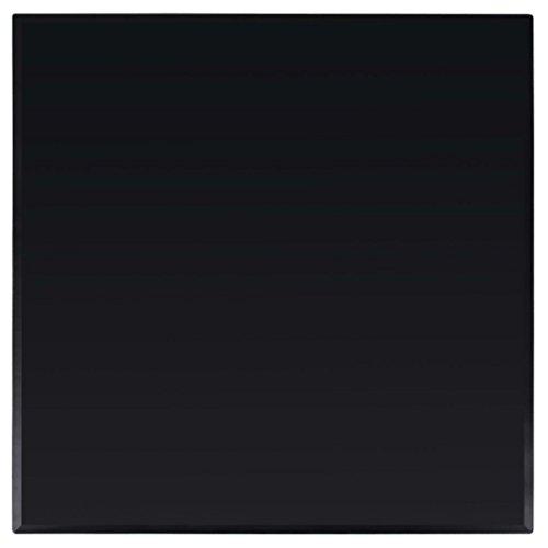 Festnight Tischplatte aus gehärtetem Glas für Couchtisch Esstisch Schreibtisch Quadratisch 800 x 800 mm