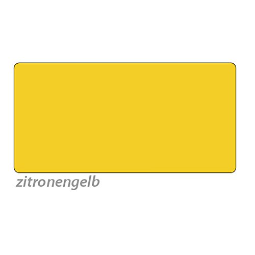 Tonpapier, 50 x 70 cm, 10 Bg., zitronengelb - Bastelpapier Bastelkarton Tonkarton