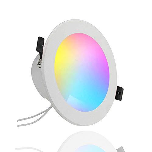 Smart LED Einbaustrahler 10W, Farbwechsel LED Glühbirnen ...