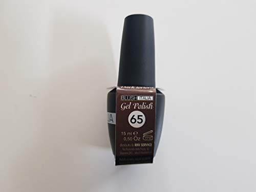 Gel Polish 15 ml semipermanenti Blush Italie 96 couleurs ultra coprenza maximale durée (65 - Dark Taupe)