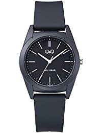 adcf1824bb7a Q Q Men s VS22J006Y Analogue Quartz with Black Resin Band - Black Dial