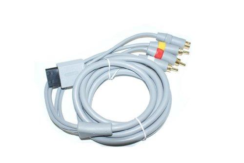 3-Cinch + S-Video Kabel AV TV Scart für Wii - RBrothersTechnologie Plus S-video