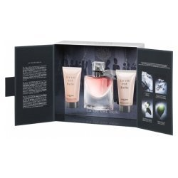 Lancome Gel Parfüm (Lancome La vie est belle - Eau de Parfum Spray 50 ml + Duschgel 50 ml + Body Lotion 50 ml)