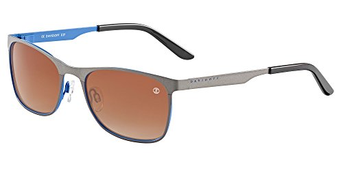 Davidoff occhiali da sole 97348 silver azure/brown shaded uomo