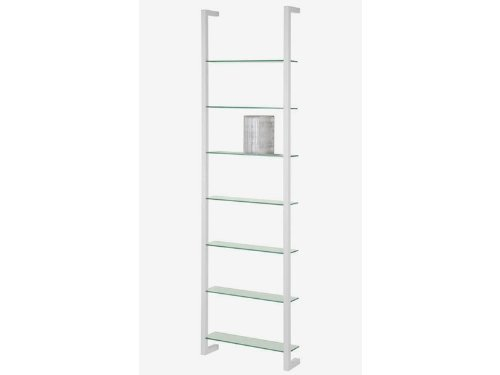 Spinder Design Cubic DVD Wall rack with 7 Shelves - White