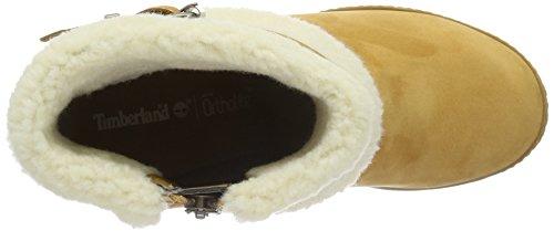 Timberland Damen Glancy_glancy_glancy Teddy Fold Down Kurzschaft Stiefel Braun (Wheat Nubuck)