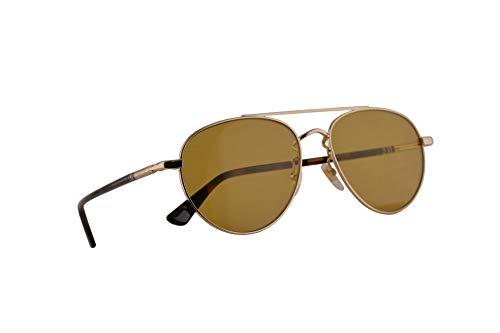 Gucci GG0388SA Sonnenbrille Gold Mit Braunen Gläsern 56mm 004 GG0388/SA 0388/SA GG 0388SA