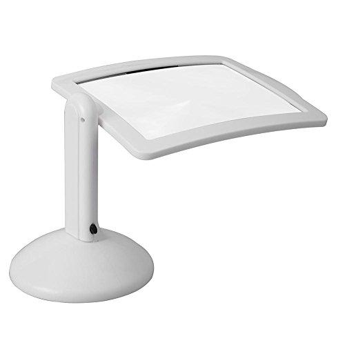 Starnearby LED Büro Tischleuchte Schreibtischlampe 3X LED Leselupe Desktop Tischlampe Licht Vergrößerungswerkzeuge