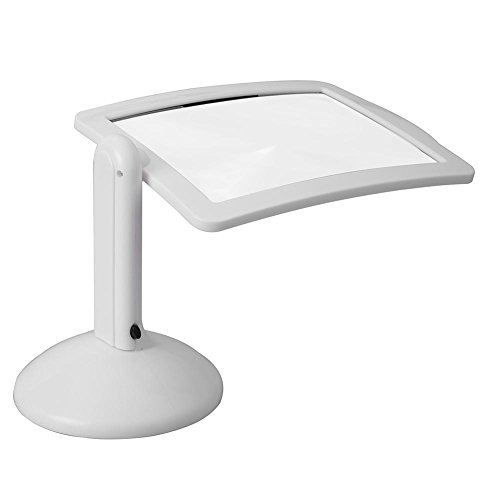 asiproper 3x LED LESELUPE Desktop Lampe Tisch Objektiv Lupe Werkzeuge