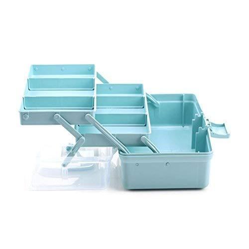 Medizinschrank Mit Geteilten Fächern, Erste-Hilfe-Set Notfall-Set Aufbewahrungsbox (Size : S-31x18x16cm) (Geteilt Bad-organizer)