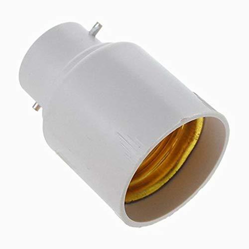 Hilai 6-Pack B22 E27 LED-Lampe Sockel Converter Halogen CFL Lampe Adapter Socket Änderung -