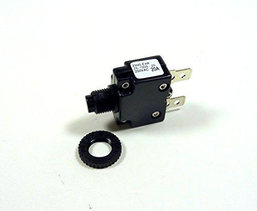 Miniatur Push Button Leistungsschalter, 20A -
