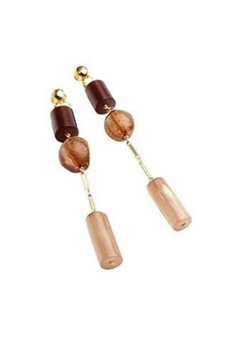 Dolce & Gabbana - DJ0795 - Boucles d'oreilles pendantes Femme - Acier inoxydable