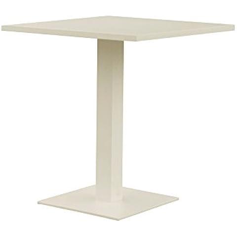Oseasons® Alluminio Quadrato 2Posti tavolo da pranzo in colore tortora