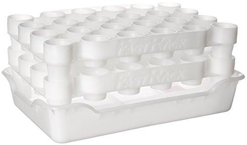 FastRack Flaschentrockner und Ablage-Set (FastRack24 zwei Racks und ein Tablett) -