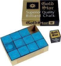 Billardkreide Gold Star, 12 Stück im Karton