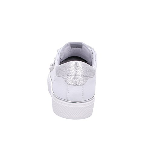 ALPE Weiße Leder Sportschuh 35830200 weiß - offwhite