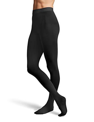 Bloch Damen Strumpfhose, konturiert, mit Fuß, Damen, schwarz, Large/X-Large -