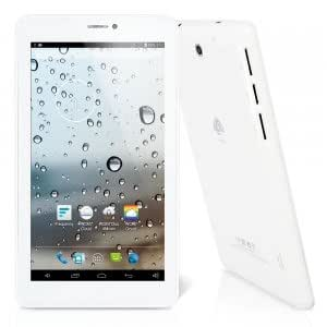 """Seven Cloud 7"""" 1024*600 Dual Core Android 4.2 4GB Phone Tablet PC 2G Dual-SIM Bluetooth White"""