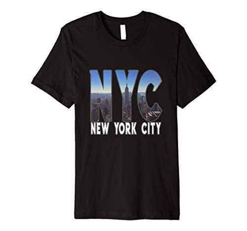 New York City Skyline TShirt Gift - NYC Lovers Fans