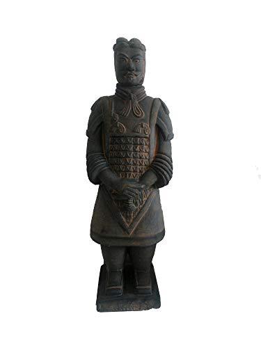 Terrakotta-Replik, chinesische antike Terrakotta-Krieger und dekorative Soldaten Ornamente chinesische Eigenschaften Geschenke 26 cm hoch