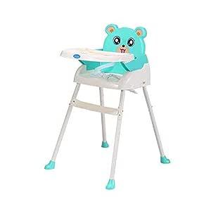 Klappbar Babyhochstuhl mit Tablett H/öhenverstellbar Gr/ün WUPYI2018 Baby Kinderhochstuhl