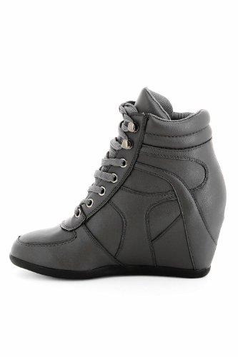 Go Tendance, Damen Sneaker Grau - Gris foncé