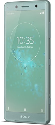 Image of Sony Xperia XZ2 Compact Smartphone (12,7 cm (5,0 Zoll) IPS Full HD+ Display, 64 GB interner Speicher und 4 GB RAM, Dual-Sim, IP68, Android 8.0) Moss Green - Deutsche Version