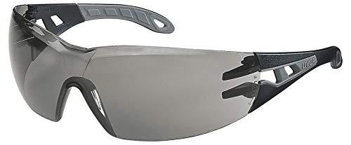 Uvex Pheos Schutzbrille - Getönte Kratzfeste & Beschlagfreie Arbeitsbrille