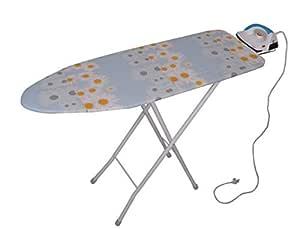 Magna Homewares Marino Extra Large Ironing Board with Ironing Rest and Fire Retardant Padding