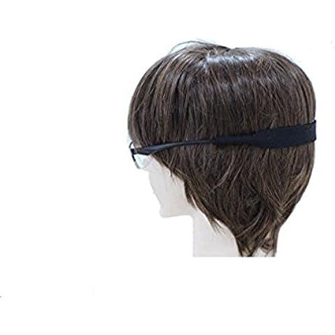 Ewin24 Neopreno Gafas de sol Espectáculo correa de seguridad Cabeza soporte del cable para Niños Niños Niños 28x2cm 2 Colores 2pcs (Negro)