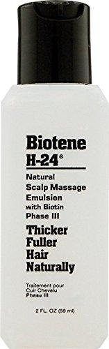 Mill Creek Emulsion Biotene H-24 pour massage du cuir chevelu - Enrichie en biotine - 60 ml