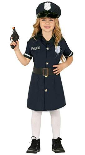 Fiesta Guirca Polizistin Polizei Kostüm Kinder Mädchen ()