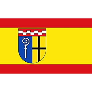 magFlags Flagge: Large Kreisfreien Stadt Mönchengladbach Die Stadt Mönchengladbach führt ein Banner Rot-Gold Gelb -Rot im Verhältnis 1 4 1, längsgestreift mit dem über